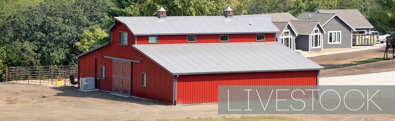 Livestock Pole Barn Greiner Building