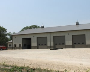Agricultural Building for Winter Equipment Storage from Greiner Buildings