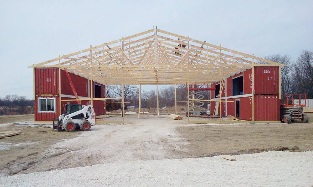 Residential Post Frame Construction | Greiner Buildings