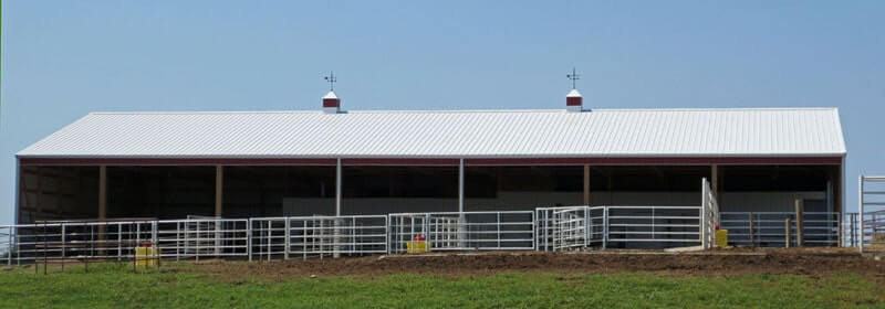 Cattle Sheds Amp Open Front Buildings In Iowa And Illinois