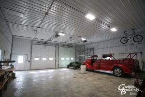 Custom Pole Barn Garage