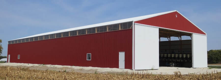 Machine Shed Pole Barn Construction In Iowa And Illinois