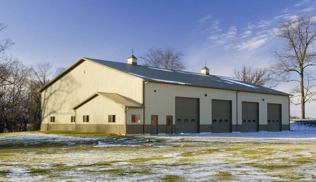 Commercial and Residential Pole and Post Frame buildings for Sterling, Illinois