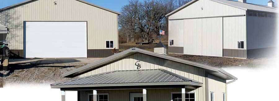 Commercial and Residential Pole and Post Frame buildings for Oskaloosa, IA