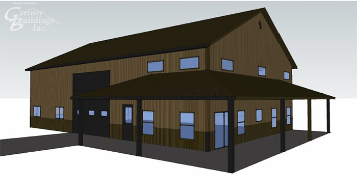 3D and 2D Drawing in Iowa and Illinois | Greiner Buildings