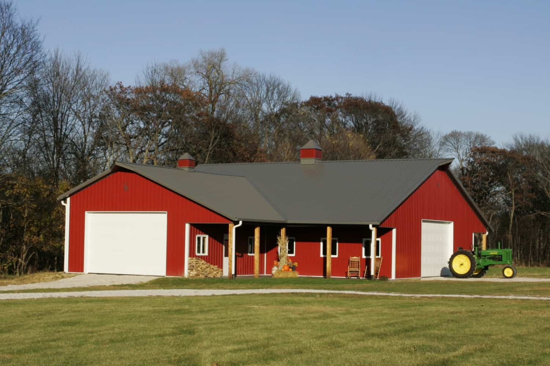 Livable Barns  Lodges And Livable Barns Ranbuild  Barn Style