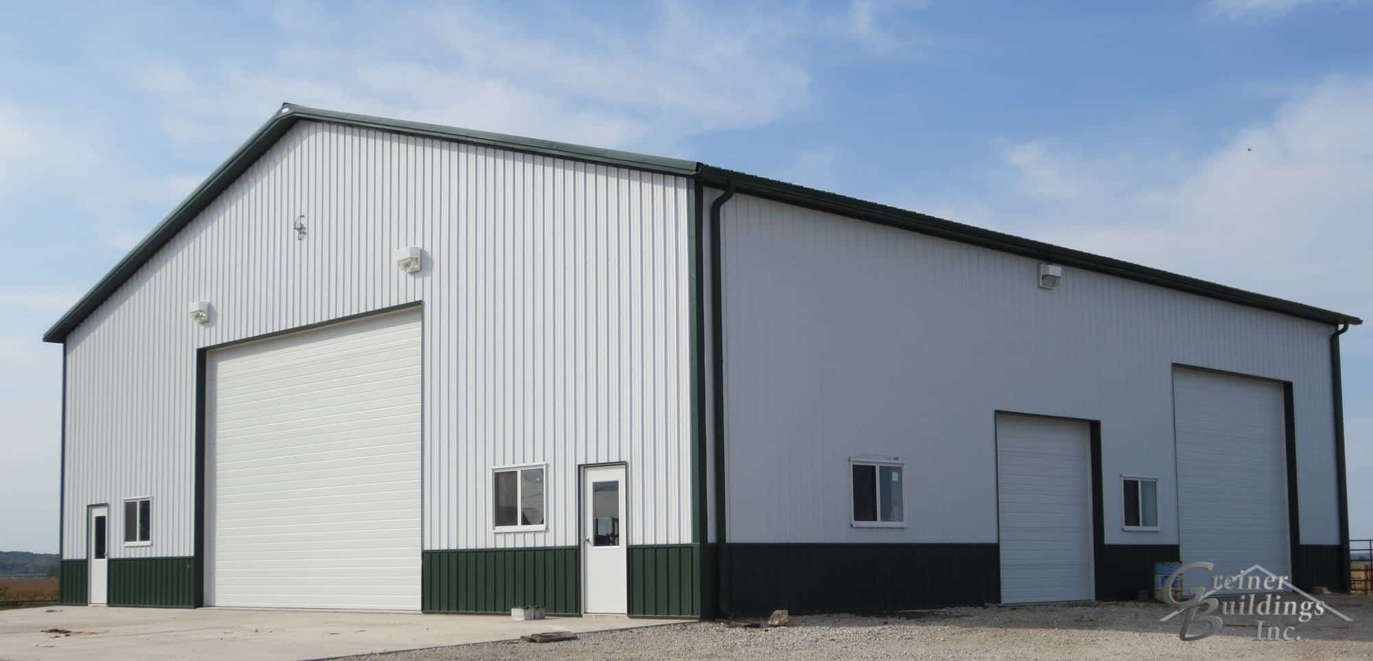 Letts Iowa Pole Barn Buildings Greiner Buildings Inc