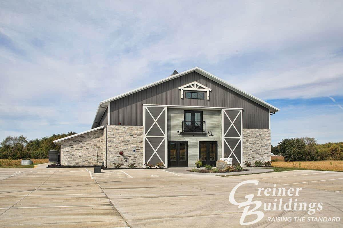 Cedar falls iowa post frame builder greiner buildings inc for Iowa home builders