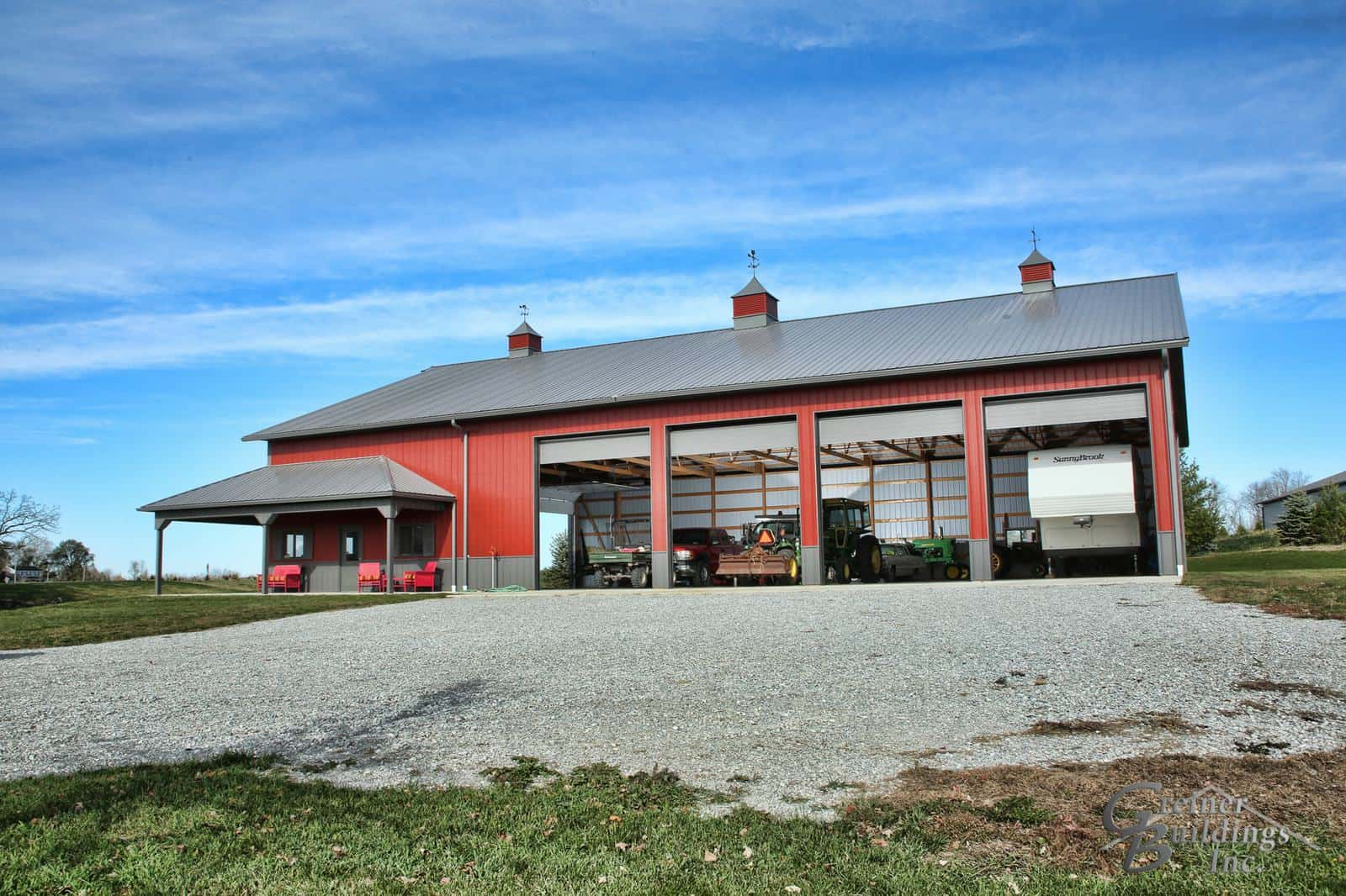 Buffalo Iowa Post Frame Pole Barn Buildings Greiner