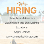 greiner buildings is hiring!